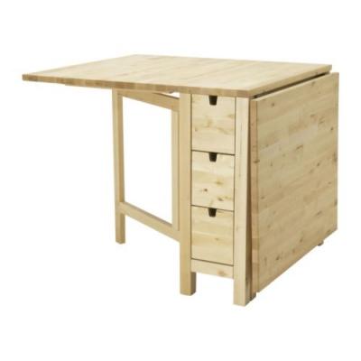 میز-تاشوی-خودرنگ-ایکیا-norden