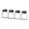 IKEA IKEA 365+ IHARDIG Glass, Black Spice jar